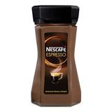 Кофе растворимый NESCAFE (Нескафе) «Espresso», с нежной пенкой, 100 г, стеклянная банка