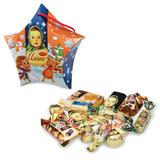 Подарок новогодний АЛЕНКА «Маскарад», 185 г, набор из конфет, шоколада и печенья ассорти