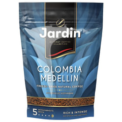Кофе растворимый JARDIN (Жардин) «Colombia Medellin», сублимированный, 280 г, мягкая упаковка