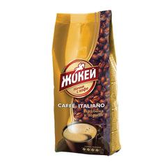 Кофе в зернах ЖОКЕЙ «Caffe Italiano», натуральный, 500 г, вакуумная упаковка