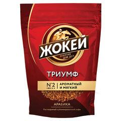 Кофе растворимый ЖОКЕЙ «Триумф», сублимированный, 450 г, мягкая упаковка