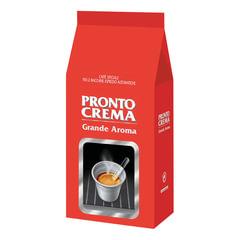 Кофе в зернах LAVAZZA (Лавацца) «Pronto Crema», натуральный, 1000 г, вакуумная упаковка