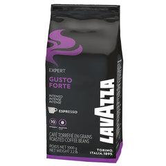 Кофе в зернах LAVAZZA (Лавацца) «Gusto Forte Expert», натуральный, 1000 г, вакуумная упаковка