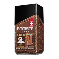 Кофе молотый в растворимом EGOISTE «Special», натуральный, 100 г, 100% арабика, стеклянная банка
