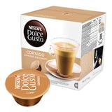 Капсулы для кофемашин NESCAFE Dolce Gusto «Cortado», натуральный кофе эспрессо с молоком, 16 шт. х 6 г