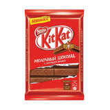 Шоколад KIT KAT (Кит Кат), молочный с хрустящей вафлей, плитка, 94 г