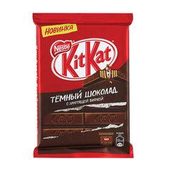 Шоколад KIT KAT (Кит Кат), темный с хрустящей вафлей, плитка, 94 г