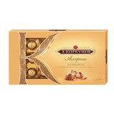 Конфеты шоколадные А. КОРКУНОВ, ассорти из молочного шоколада, 108 г, картонная коробка