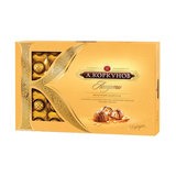 Конфеты шоколадные А. КОРКУНОВ, ассорти из молочного шоколада, 253 г, картонная коробка