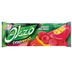 Мороженое ЭKZO манго/<wbr/>малина, фруктовая глазурь/<wbr/>кусочки фруктов, эскимо, 70 г