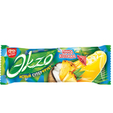 Мороженое ЭKZO пина-колада, фруктовая глазурь/<wbr/>кусочки фруктов, эскимо, 70 г