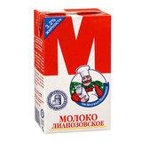 Молоко М Лианозовское, жирность 3,2%, ультрапастеризованное, картонная упаковка, 950 г