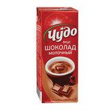 Молочный коктейль ЧУДО шоколадный, жирность 3%, картонная упаковка, 200 г