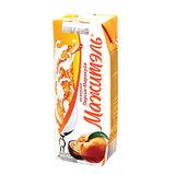Молочный коктейль МАЖИТЭЛЬ с соком, персик/<wbr/>маракуйя, жирность 0,05%, картонная упаковка, 250 г