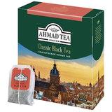 Чай AHMAD (Ахмад) «Classic Black Tea», черный, 100 пакетиков с ярлычками по 2 г