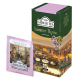 Чай AHMAD (Ахмад) «Summer Thyme», чёрный с чабрецом, 25 пакетиков в конвертах по 1,5 г