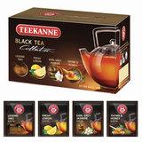 Чай TEEKANNE (Тикане) «Black tea collection», черный, ассорти 4 вкуса, 20 пакетиков, Германия