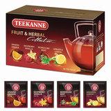 Чай TEEKANNE (Тикане) «Fruit tea collection», фруктовый, ассорти 4 вкуса, 20 пакетиков, Германия