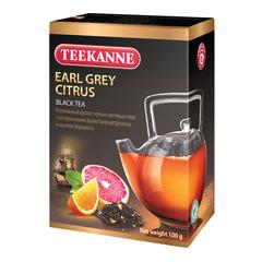Чай TEEKANNE (Тикане) «Earl Grey Citrus», черный, бергамот/<wbr/>цитрус, листовой, 100 г