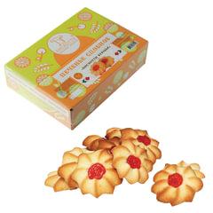 Печенье БИСКОТТИ (Россия) «Курабье», сдобное, 675 г, картонная коробка