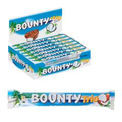 Шоколадный батончик BOUNTY (Баунти) «Trio», 82,5 г