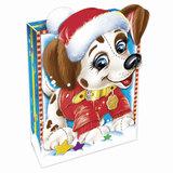 Подарок новогодний «Снежок», 500 г, набор конфет и пр., ассорти, картонная коробка