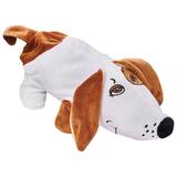 Подарок новогодний «Собака Сосиска», 400 г, набор конфет ассорти, сумочка, мягкая игрушка