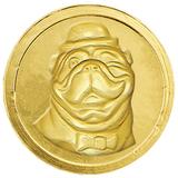 Шоколадные монеты МОНЕТНЫЙ ДВОР «Новогодние», 720 г (120 шт. по 6 г), пластиковая банка