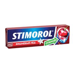 Жевательная резинка STIMOROL ICE (Стиморол) «Вишневый лед», без сахара, 13,6 г