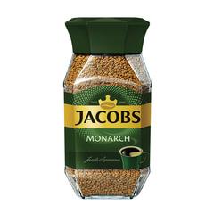 Кофе растворимый JACOBS MONARCH (Якобс Монарх), сублимированный, 95 г, стеклянная банка