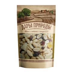 Орехи и сухофрукты, коктейль ДАРЫ ПРИРОДЫ, смесь орехов и сухофруктов, 150 г