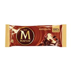 Мороженое МАГНАТ «Миндаль», миндаль/<wbr/>шоколад, эскимо, 73 г