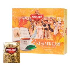 Чай МАЙСКИЙ «Коллекция изысканных вкусов», набор 30 пакетиков по 2 г, ассорти, 5 вкусов