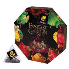 Чай CURTIS (Кёртис) «Fantasy Garden», набор 40 пирамидок по 1,5 г, ассорти, 8 вкусов