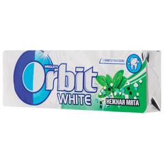 Жевательная резинка ORBIT (Орбит) «Белоснежный», нежная мята, 10-пачечный мультипак, 136 г