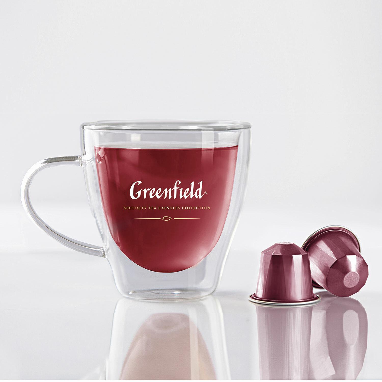 чай Greenfield Hot Raspberry