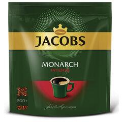 Кофе растворимый JACOBS Monarch «Intense», сублимированный, 500 г, мягкая упаковка