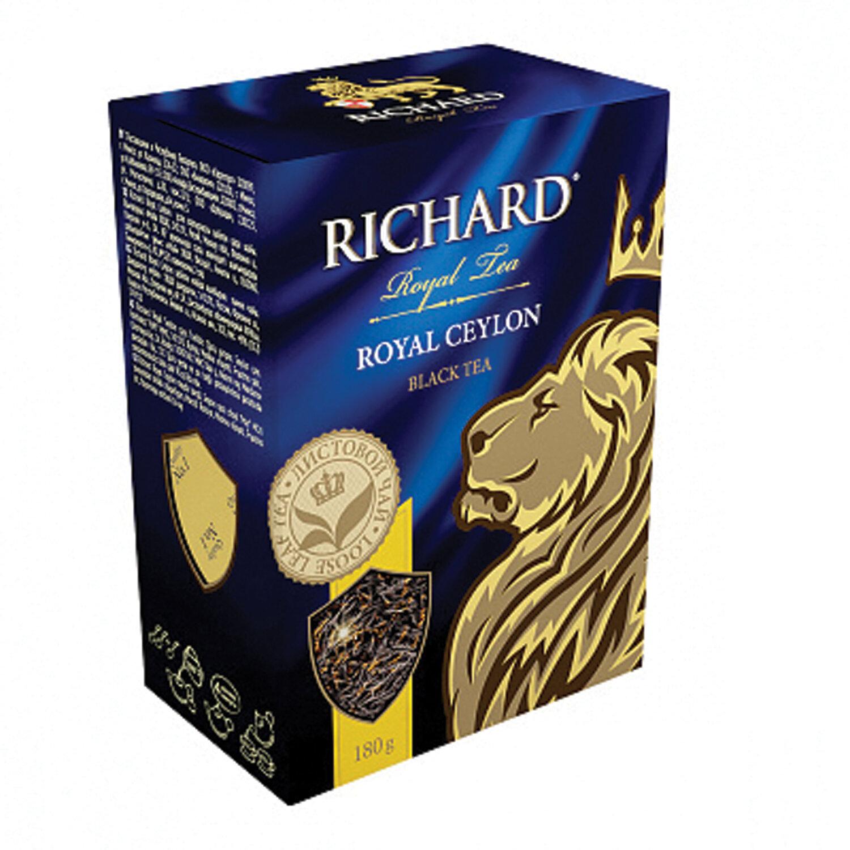 чай черный Richard Royal Ceylon