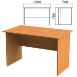 Стол письменный «Фея», 1200×700×750 мм, цвет орех милан, СФ03.5