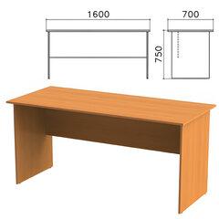 Стол письменный «Фея», 1600×700×750 мм, цвет орех милан, СФ01.5