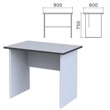 Стол письменный «Монолит», 900×600×750 мм, цвет серый, СМ19.11