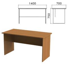 Стол письменный «Монолит», 1400×700×750 мм, цвет орех гварнери, СМ2.3