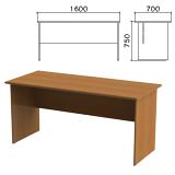 Стол письменный «Монолит», 1600×700×750 мм, цвет орех гварнери, СМ3.3