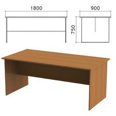 Стол для переговоров «Монолит», 1800×900×750 мм, цвет орех гварнери, СМ18.3