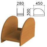 Подставка под системный блок «Монолит», цвет орех гварнери, ПМ32.3