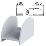 Подставка под системный блок «Монолит», цвет серый, ПМ32.11