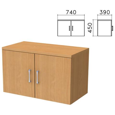"""Шкаф-антресоль """"Монолит"""", 740х390х450 мм, цвет бук бавария, АМ01.1"""