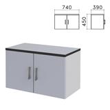 Шкаф-антресоль «Монолит», 740×390×450 мм, цвет серый, АМ01.11