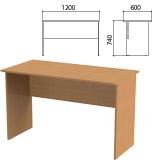 Стол письменный «Эко», 1200×600×740 мм, бук бавария