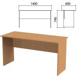 Стол письменный «Эко», 1400×600×740 мм, бук бавария